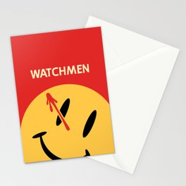 Who Watches Who? Stationery Cards
