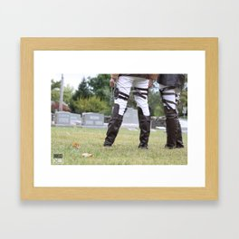 20150926 Levi X Catherine, Remain Framed Art Print