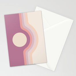 Lilac Rainbow Canyon Stationery Cards