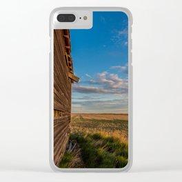 Grain Elevator 12 Clear iPhone Case