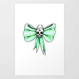 Pretty in Afterlife.  Art Print
