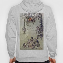 """""""The Fairies Ascent"""" by A. Duncan Carse Hoody"""