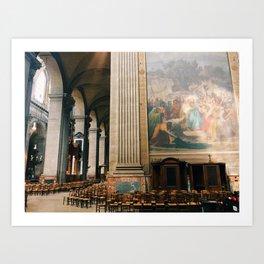 cathedral light Art Print