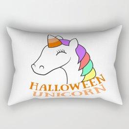 Unicorn girl halloween pony horse colorful sweet cute gift kids Rectangular Pillow