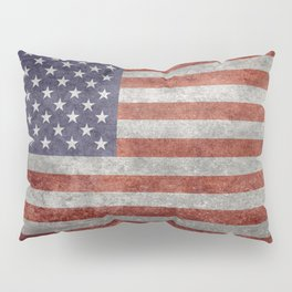 United States of America Flag 10:19 G-spec Vintage Pillow Sham