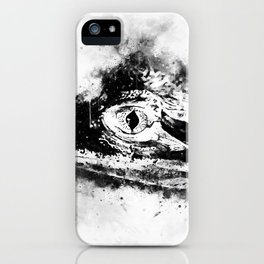 alligator baby eye wswbw iPhone Case