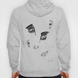 Disproportionate Face Hoody