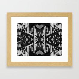 Industrial Star Framed Art Print