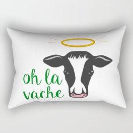 oh la vache Rectangular Pillow
