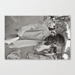 Smoking Stepper - New Orleans, Louisiana Canvas Print