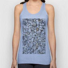 Grey pebbles Unisex Tank Top