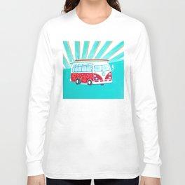 Surfer Sunrise Long Sleeve T-shirt