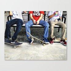 Skaters, Dallas, TX Canvas Print