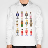 the royal tenenbaums Hoodies featuring The Royal Pixelbaums by Isabel