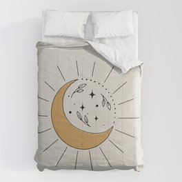 Cresent Moon and the Sun Comforters