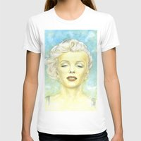 comic book T-shirts featuring Marilyn Monroe comic book cover by TidalWave Productions