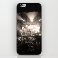 concert iPhone & iPod Skins featuring A Concert by Rick Cohen