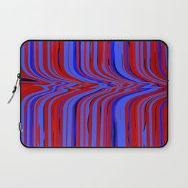 red and blue flowing Laptop Sleeve