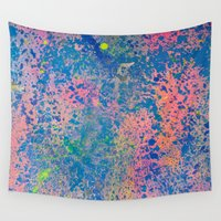 sparkle Wall Tapestries featuring Sparkle by Candy Circles