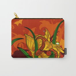Jungle Lilies Carry-All Pouch