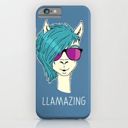 LLAMAZING llama iPhone Case