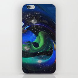 A Space Ray iPhone Skin
