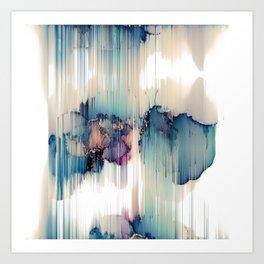 OCEAN FALLS Art Print