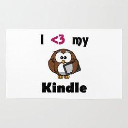 Kindle Love Rug