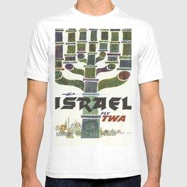 Vintage poster - Israel T-shirt