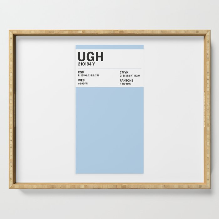 Ugh - Colour Card Serving Tray