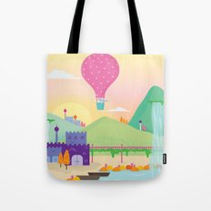 somewhere far away Tote Bag