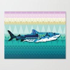 Paralleloshark Canvas Print