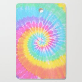 Rainbow Tie Dye Cutting Board