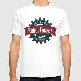 No. 1 Robot Fucker T-shirt