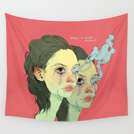Only I Know Myself Wall Tapestry