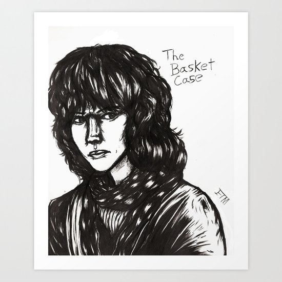 The Basket Case Art Print