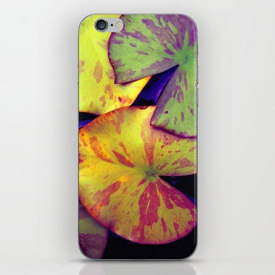 lily pads IIX iPhone & iPod Skin