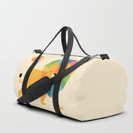 Lion Shine Duffle Bag
