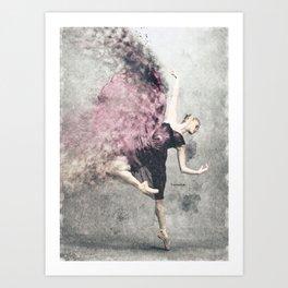 Dancing on my own Art Print