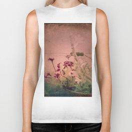 Floral Joy Biker Tank