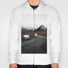Sheep in the highlands #adventure Hoody