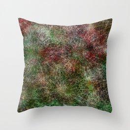 Barrel Cactus Mess Throw Pillow