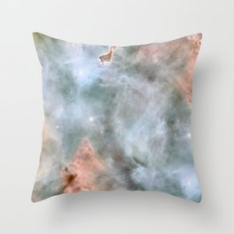 Carina Nebula Throw Pillow