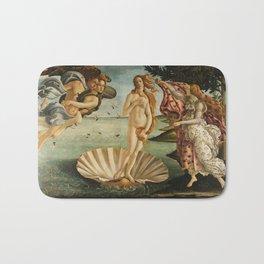 The Birth of Venus - Sandro Botticelli Bath Mat