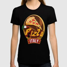 Pizza Italy / Support Pizza / Foodietoon T-shirt