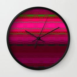 PaintedDesert 10 Wall Clock