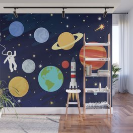 In space Wall Mural