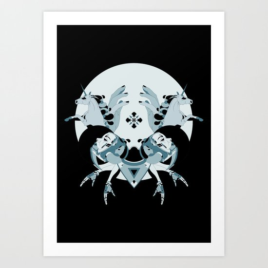 Unholy Space Journey Art Print