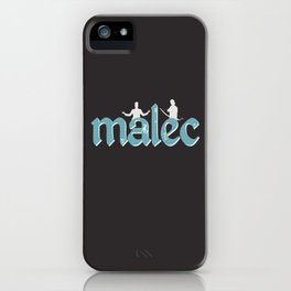 Malec | Shadowhunters iPhone Case