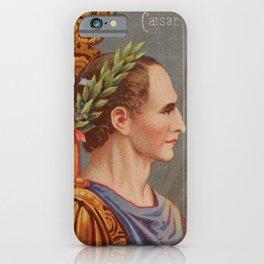 Vintage Julius Caesar Illustration (1888) iPhone Case